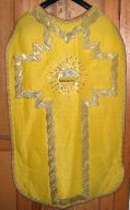 Ornement doré n° 3 : chasuble
