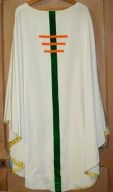 Ornement blanc n° 15 : chasuble