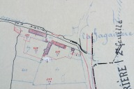 Extrait du plan cadastral de 1937, section B3.