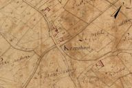Extrait du plan cadastral de 1819, section F2.