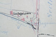 Extrait du plan cadastral de 1937, section C1.