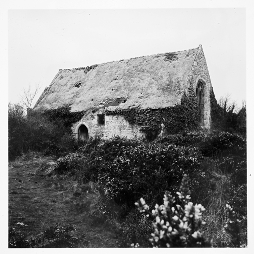 La chapelle Sainte-Barbe, vers 1970.