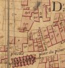 Extrait du plan cadastral de 1819, section Z.