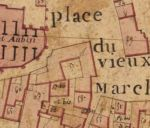 Extrait du plan cadastral de 1819, section Z, parcelle 57.