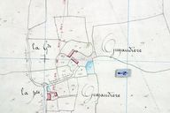 Extrait du plan cadastral de 1842, section B2.