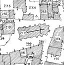 Extrait du plan cadastral de 1989, section AK, parcelle Z 211.
