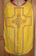 Ornement doré n° 4 : chasuble