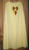 Ornement blanc n° 16 : chasuble