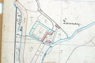 Extrait du plan cadastral de 1842, section C3.