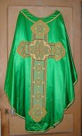 Ornement vert n° 14 : chasuble